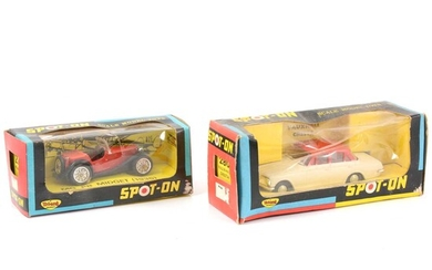 Tri-ang Spot-on die-cast models, including 279 PG Midget and 280 Vauxhall Cresta.