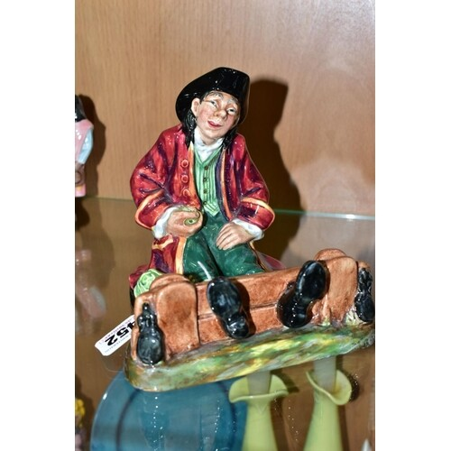 A ROYAL DOULTON FIGURE, In The Stocks HN2163, approximate he...