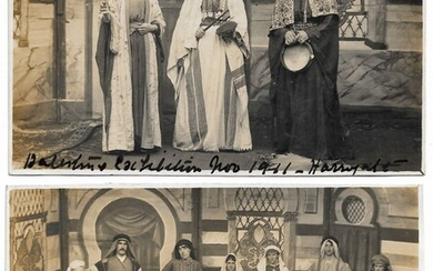 Collection of 4 Postcards - Palestine Exhibition, 1932