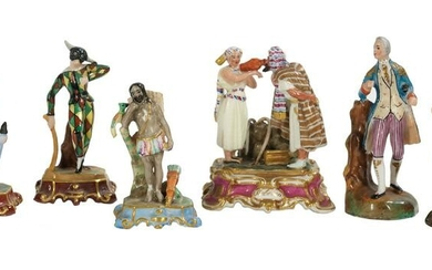 Jacob Petit Paris Porcelain Miniature Figures