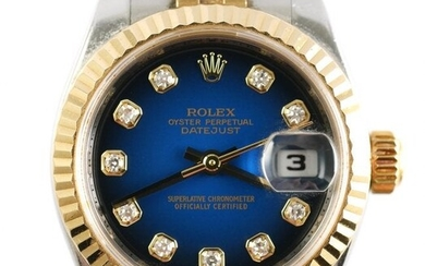 Lady's ROLEX Oyster Perpetual Date Just Watch