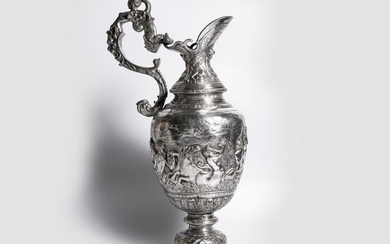 Pitcher, Decorated with an allegory of Neptune