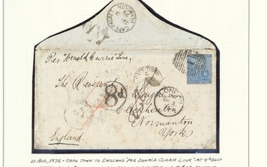 "South African Maritime Mail from 1677 The ""Joachim"" Collection The Donald Currie Castle Line 18..."