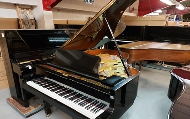 Yamaha (c1991) A 6ft 1in Model C3 grand piano in a bright eb...