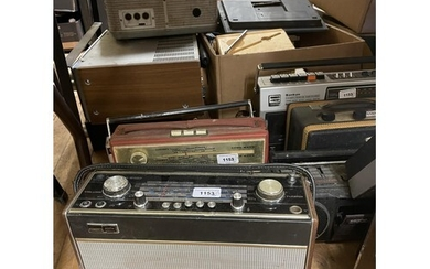 A Grundig Yacht Box, and various other audio equipment (qty)