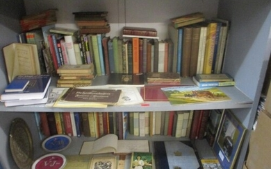A collection of books on art and other subjects to include L...