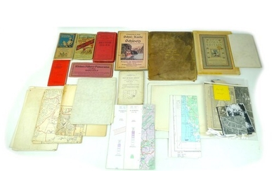 A collection of over fifty maps, including WWII Ordnance Sur...