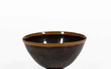Edwin and Mary Scheier Conical Studio Pottery Bowl