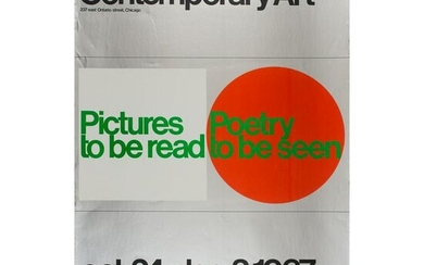 Eight Modern and Contemporary Art Exhibition Posters