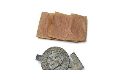 WW2 Un-issued German Hitler Youth Silver Proficiency Badge