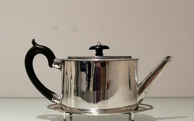 18th Century Antique George III Sterling Silver Teapot