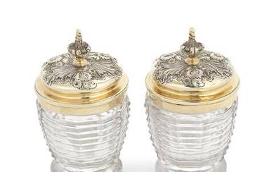 A collection of William IV and Victorian silver
