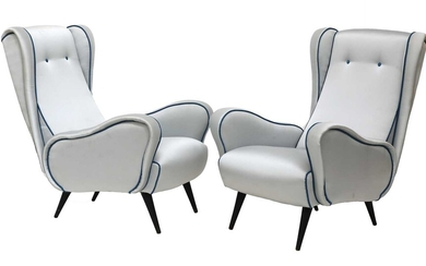 A pair of Italian 'Lady' chairs