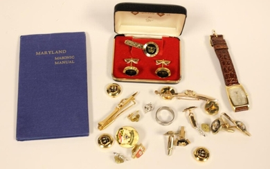 Collections of Masonic Object w Relate Manual Book