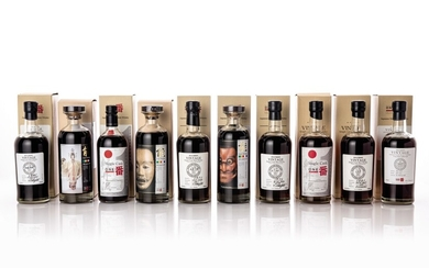 輕井澤The Malt Maniacs Awards金獎得主系列(十瓶) Karuizawa MMA Gold Winners 10 Bottle Set NV (10 BT70)