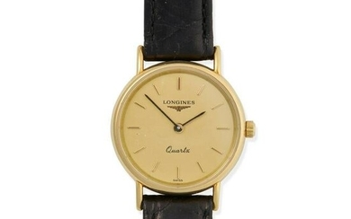 Longines: a lady's gold watch