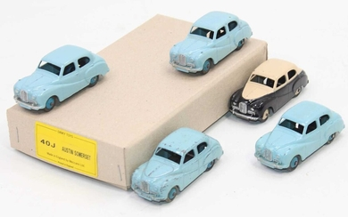 Lot details Dinky Toys 40j Austin Somersets in Reproduction...
