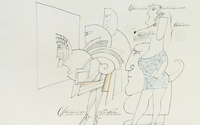 Saul Steinberg (American, 1914-1999) Conditioned