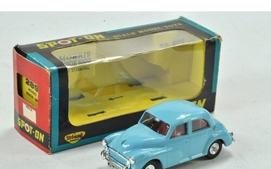 Tri-ang Spot-on No. 289 Morris Minor 1000, light blue with r...