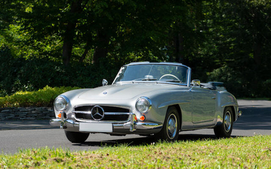 1960 Mercedes-Benz 190SL Roadster with Hardtop, Chassis no. 121.040.10.019522 Engine no. 121.921.10.022174