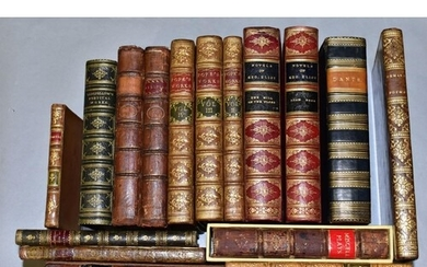 ANTIQUARIAN BOOKS, a collection of poetical and literary wor...