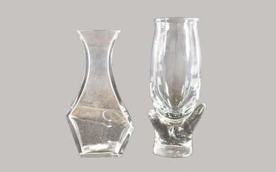 BACCARAT COLORLESS GLASS VASE