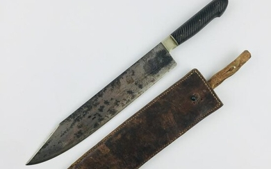 Bowie type knife