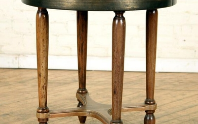 FRENCH WALNUT OCCASIONAL TABLE CIRCA 1940
