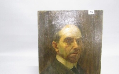 Portrait of a gentleman, unsigned oil on canvas, named to re...