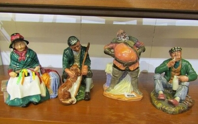"""ROYAL DOULTON FIGURES, """"Silks and Ribbons"""", also """"The Master..."""