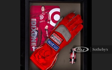 Scott Dixon Race Worn and Signed Gloves