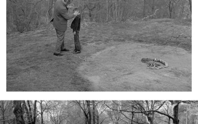 Tod Papageorge, Father + Son, Central Park, 1980; Bench Scene ('See, Hear, Speak no Evil'), Central Park