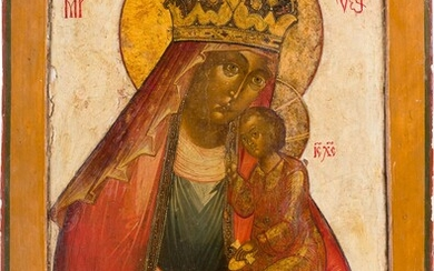 A LARGE ICON SHOWING THE MOTHER OF GOD 'OF THE...