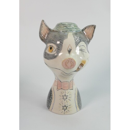 Beswick badger moneybox 1760: by Colin Melbourne.