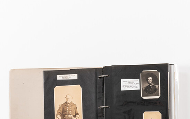 Collection of Carte-de-visite Photographs and Other Images of Civil War Figures