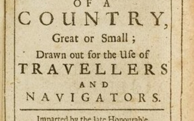 Early travel guide.- Boyle (Robert) General Heads for