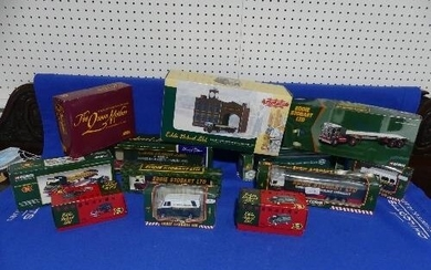 Eddie Stobart; A collection of Corgi Scle Models, including ...