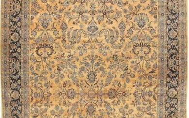 LARGE ALLOVER ANTIQUE PERSIAN KERMAN CARPET. 19 ft 9 in x 11 ft 7 in (6.02 m x 3.53 m).