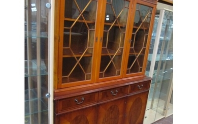 Yew Triple Glazed Top Dresser.