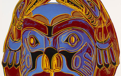 Andy Warhol (1928-1987) Northwest Coast Mask, from Cowboys and Indians