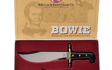 Case Bowie Fixed Blade Hunting Knife