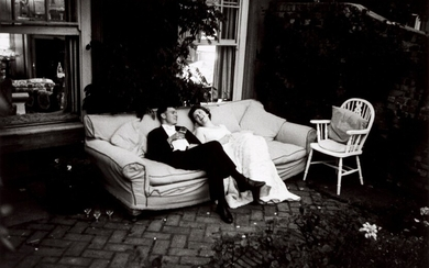 End of a Coming Out Party, Highgate, London, July 1955, Thurston Hopkins