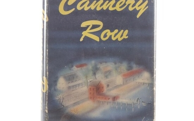 """First Edition, Second State """"Cannery Row"""" by John Steinbeck, 1945"""