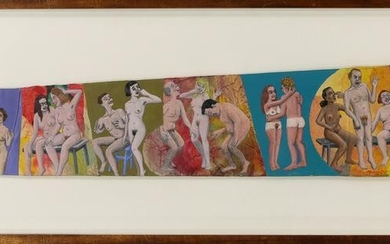 Paintings, Two Nudes and a Graven Image and Naked Party