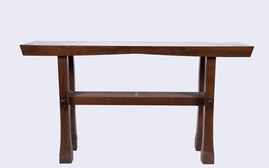 Pair Of Chinese 20th Century Console Tables 58 x 32 x