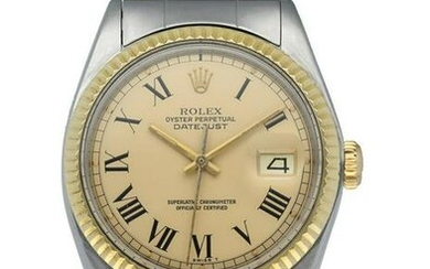 Rolex Oyster Perpetual Datejust 1601 Mens Watch Box &