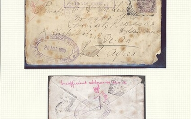 "South African Maritime Mail from 1677 The ""Joachim"" Collection Wreck of the Union Steamship Com..."