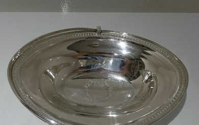18th Century Antique George III Sterling Silver Cake