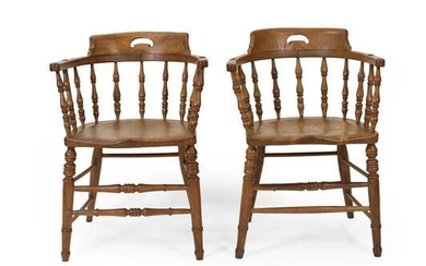 A Set of Four Late 19th Century Thames Valley Ash...