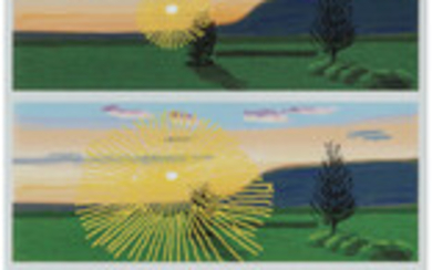 David Hockney (1937), Remember That You Cannot Look at the Sun or Death For Very Long (2021)
